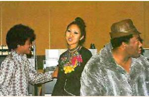 Suzee Ikeda Michael Jackson & Hal Davis