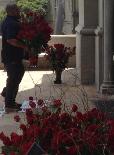 Jody LA roses arrive